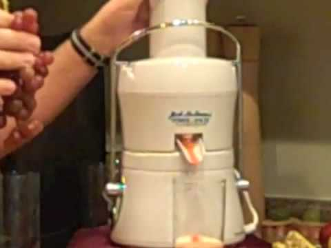 Jack LaLanne Juicer-Power Juicer Express reviews.m4v