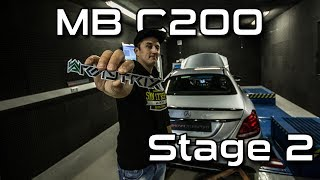 Mercedes Benz C200 |  Stage 2  Leistungssteigerung 240PS/405NM + Armytrix | SimonMotorSport | #343