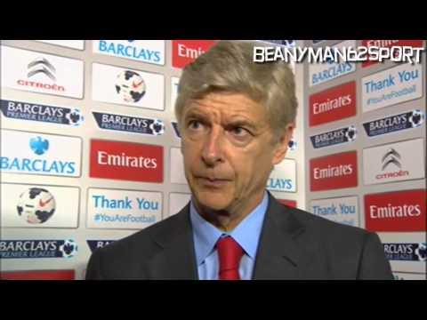 Arsenal 1-3 Aston Villa - Arsene Wenger Post Match Interview