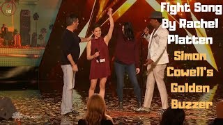 Fight Song By Rachel Platten Simon Cowell's Golden Buzzer | Top Best Talent