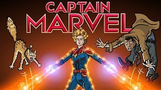Captain Marvel Trailer Spoof - TOON SANDWICH