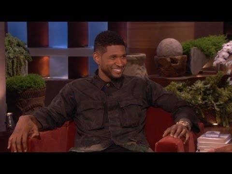 Usher on Bieber: 'He's Young'