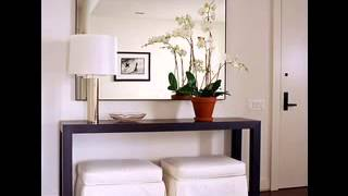 Modern contemporary console table design ideas