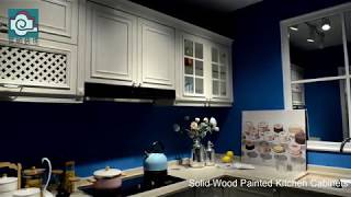 Solid Wood Painted Kitchen Cabinets
