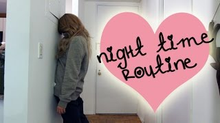 MY NIGHT TIME ROUTINE // Grace Helbig