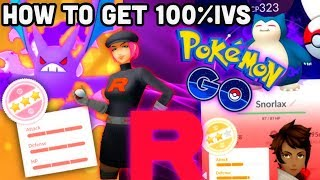 HOW TO GET 100% IV SHADOW OR PURIFIED IN POKEMON GO   FIND TEAM ROCKET POKESTOPS
