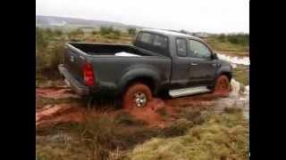 Toyota Hilux 2,5 Xtra Cab, Offroad Test Quadjournal
