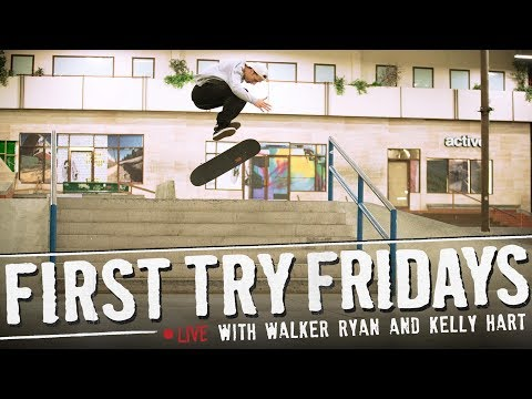 Kelly Hart & Walker Ryan - First Try Friday... LIVE!