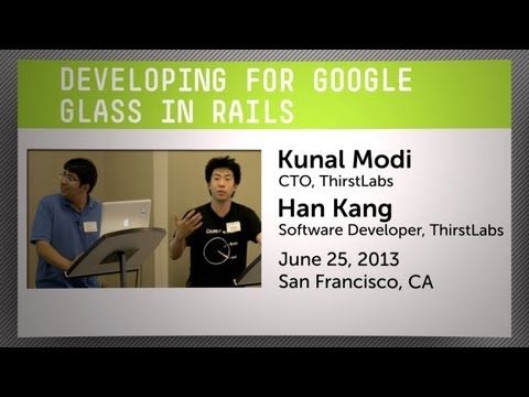 Developing for Google Glass in Rails