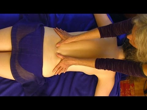 Back Massage Pure Relaxation Technique How To Give A Back Massage, Asmr Athena Jezik video