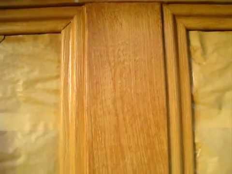 Faux Wood Grain Technique