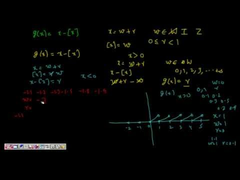 Greatest Integer Function And Continuity Of [x] And (x-[x]) ( Cbse Iit Class 12 Maths Calculus) video