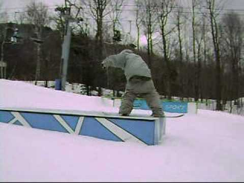 snowboarding at Sunapee.