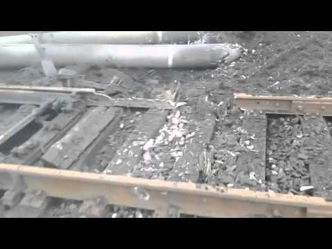 Ukraine Today.News 05 02 2015,Footage Ukrainian troops at hit train tracks in southern Debaltseve