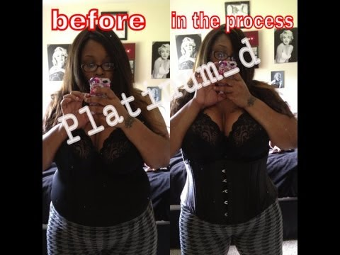 HOUR GLASS FIGURE! CORSET TRAINING WITH VIXXEN GANG