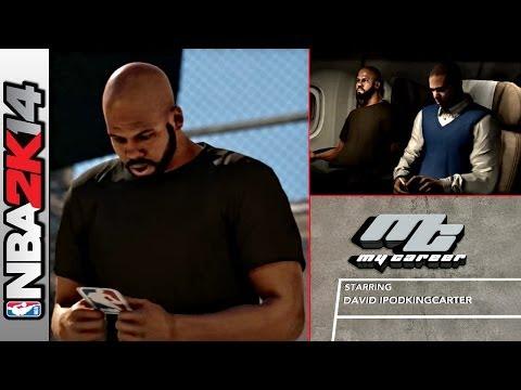NBA 2K14 My Career Mode PS4 Ep 1 - The Creation of David IpodKingCarter