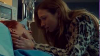 | Wynonna Earp | Waverly and Nicole kiss | 2x10 |