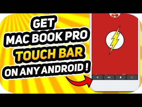 Get MacBook Pro Touch bar On Any Android Device | How-to Guide