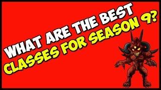 What's the Best Class for Season 9 Diablo 3 Patch 2.4.3 Builds