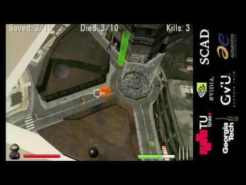 ARhrrrr - An augmented reality shooter