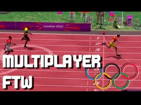 Multiplayer FTW - Olympics 2012 - 100m World Record