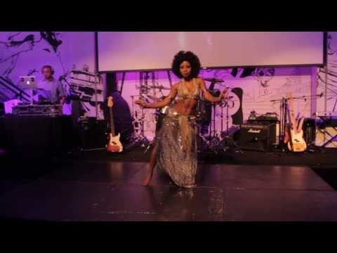 Dubstep Tribal Fusion Belly Dance - Ebony Qualls - Washington Dc - Paradise Circus - Massive Attack video