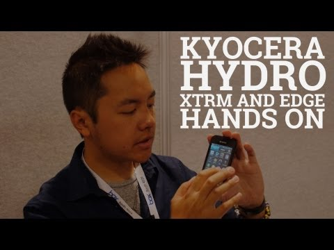 Kyocera Hydro XTRM and EDGE at CTIA 2013