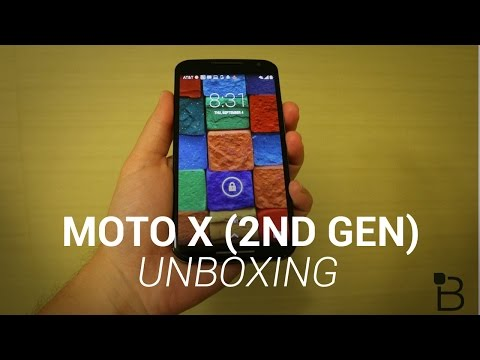 Moto X (2nd Gen) Unboxing & Hands-On
