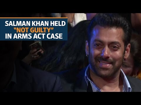 Salman Khan acquitted in Arms Act case by a Jodhpur court