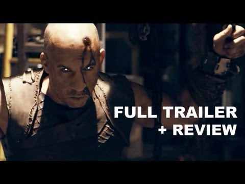 Riddick Official Trailer 2013 + Trailer Review - Vin Diesel : HD PLUS