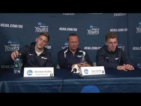 2016 Wingate Men's Soccer - Final Four press conference with coach Hamill, Szalay & Nelson