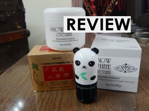 Review-Panda's Dream. Snow white cream y recomendación