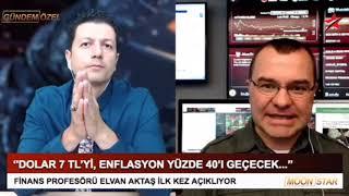 ENFLASYON YÜZDE 24,52... İŞTE PROF. ELVAN AKTAŞ'IN O UYARISI!