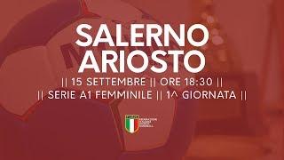 Serie A1 Femminile [1^ giornata]: Salerno - Ferrara 28-15
