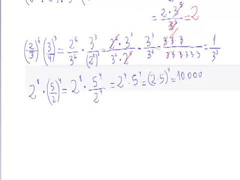 Problemas Aplicacion Propiedades potencias Matematicas 3 ESO AINTE