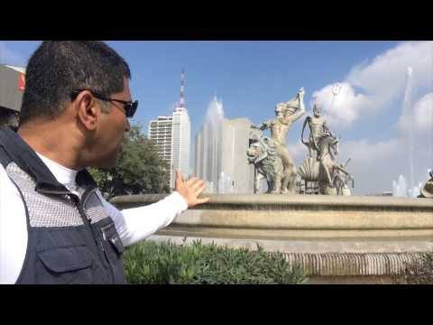 Walking tour of Monterrey Mexico