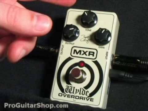 MXR ZW-44 Zakk Wylde Overdrive Pedal