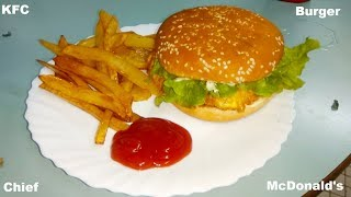 Easiest Burger Recipe | Restaurants Style Burger At HOME