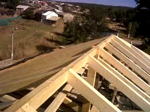 Estructura de madera laminada youtube - Como hacer un plano de una casa ...