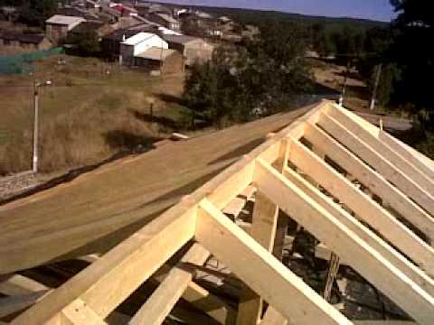 Estructuras de casas de madera
