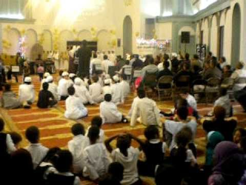 CHARLOTTE ISLAMIC ACADEMY (KIDS SINGING A NAAT
