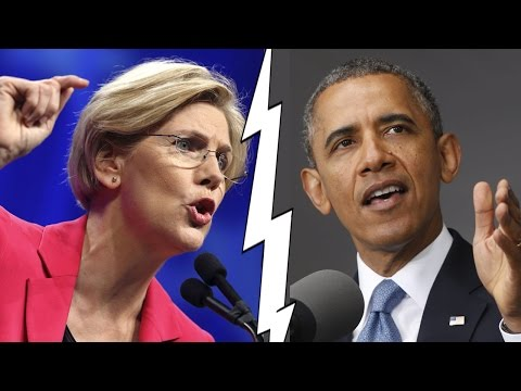 Obama and Elizabeth Warren Trade Blows on TPP