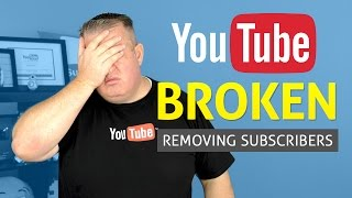 The UnSub Bug! YouTube is Broken Again or Not Being Honest