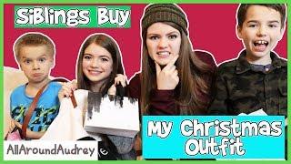 SIBLINGS BUY MY CHRISTMAS HOLIDAY OUTFIT / AllAroundAudrey