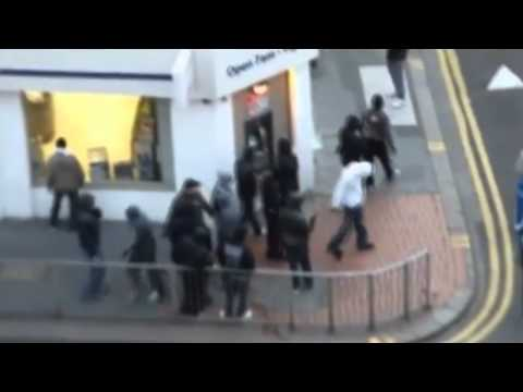 Rare Footage! London Riots & Thugs In Action!