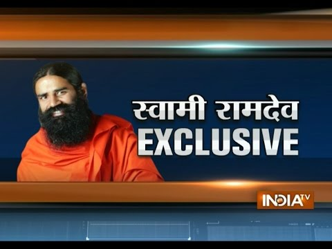 Baba Ramdev exclusively interview with India TV