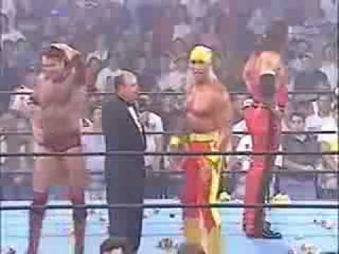Hulk Hogan joins NWO (Bash at beach 1996)