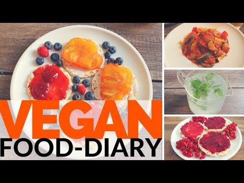 Vegan Food-Diary | Pflanzliche Ernährung | What I eat | Vegan kochen