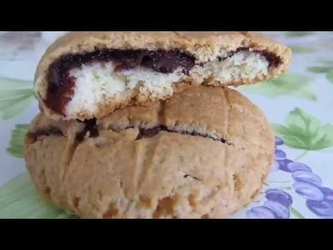 Песочное печенье с сюрпризом внутри.Быстрый  рецепт .Biskrem Kurabiye Tarifi