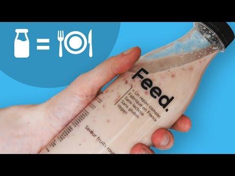 CRASH TEST : nourriture en BOUTEILLE ! thumbnail